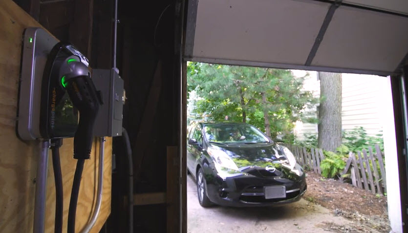 Electric Car Convenient for Family of Three