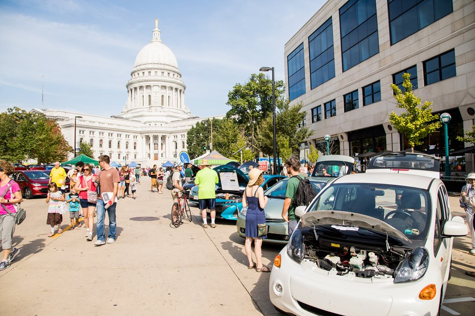 2017 Madison Area National Drive Electric Week Event.