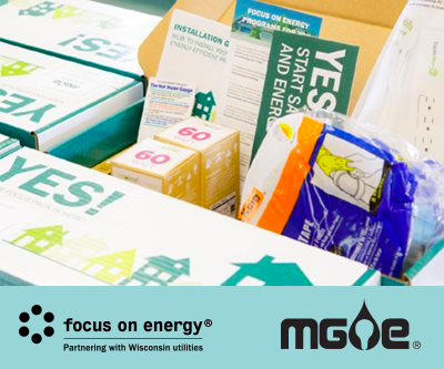 Save with Free Kit from FOCUS ON ENERGY®