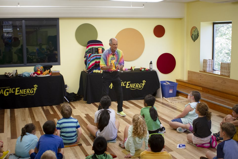 Energy Education with a Bit of Magic