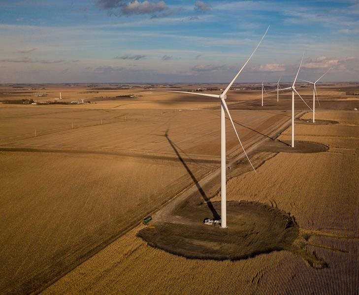 Time-lapse Video: Saratoga Wind Farm Construction